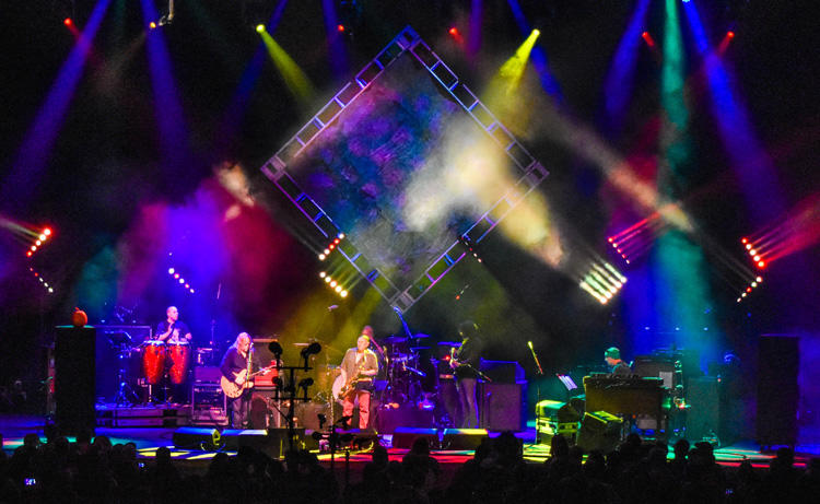 Gigging with Gov't Mule in Albany, New York